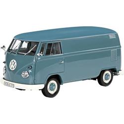 Schuco VW T1 Kasten blau 1:32 Modellauto