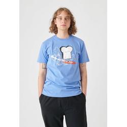 Cleptomanicx T-Shirt Surfer Toast mit lustigem Toast-Print L