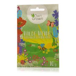 OwnGrown Blumenerde Wilde Weide - Wildblumenmischung - 10 g Blumensamen Mischung für 5 - 10 m² Fläche