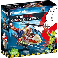 Playmobil Ghostbusters Venkman mit Helikopter