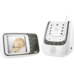 NUK 10256296 Babyphone mit Kamera Digital 2.4GHz