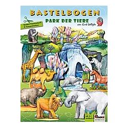 Park der Tiere - Bastelbogen
