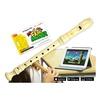 Voggenreiter Flute Master (App) mit Blockflöte aus Kunststoff (barocke Griffweise)