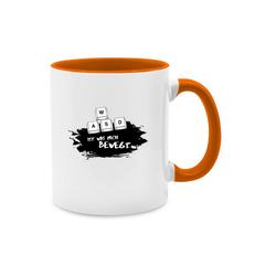 Shirtracer Tasse WASD ist was mich bewegt - Nerds & Geeks - Tasse zweifarbig - Tassen, nerd tasse