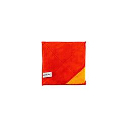 Kochblume Geschirrtuch Microfasertuch 18 x 18 cm, 800g/m² Qualtität rot 18 cm x 18 cm