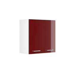 Vicco Hängeschrank 60 cm Küchenschrank Küchenschränke Küchenunterschrank R-Line Küchenzeile rot