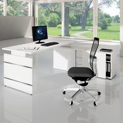 Büro Schreibtisch mit Sideboard Ovekko