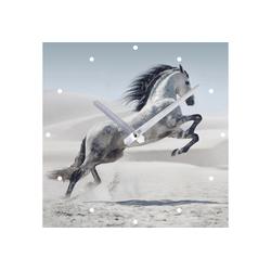 Spiegelprofi GmbH Wanduhr Pferd