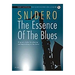 The Essence Of The Blues Tenor Saxophone - Buch