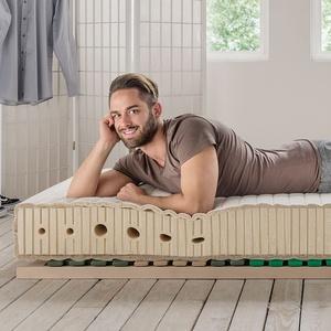 "allnatura Naturlatex-Matratze ""Supra-Comfort"" - Größe: 100x200 cm"