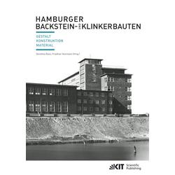 Hamburger Backstein- und Klinkerbauten als Buch von