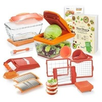 Genius Nicer Dicer Chef S 21-tlg. orange