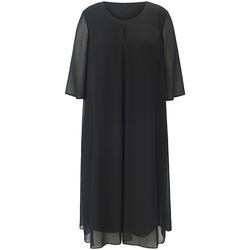 Abendkleid Kleid mit langem 1/2-Arm Anna Aura schwarz
