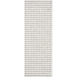 VBS Bastelperlen Halbperlen, Ø 5 mm, 646 Stück silberfarben