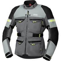 IXS Tour Adventure Gore-Tex Motorrad Textiljacke, schwarz-grau, Größe 5XL