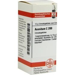 ACONITUM C 200 Globuli 10 g
