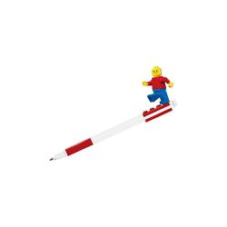 LEGO® Filzstift Gelstift LEGO inkl. Figur, blau rot