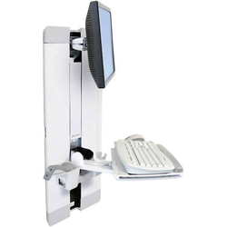 Ergotron StyleView Vertical Lift 1fach Monitor-Wandhalterung 25,4cm (10 ) - 61,0cm (24 ) Höhenverst