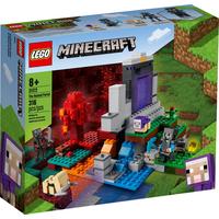 Lego Minecraf Das zerstörte Portal 21172