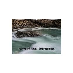 Partnachklamm Impressionen (Wandkalender 2021 DIN A3 quer)