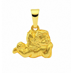 Adelia´s Kettenanhänger 333 Gold Anhänger, Goldschmuck für Damen