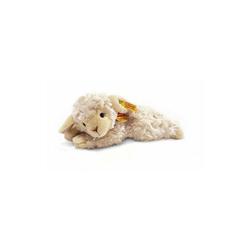 Steiff Kuscheltier Steiff Lamm Linda liegend wollweiß, 22 cm