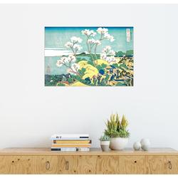Posterlounge Wandbild, Der Fuji von Gotenyama in Shinagawa 100 cm x 70 cm