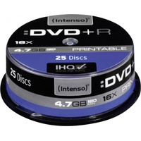 Intenso DVD+R 4.7GB 16x printable 25er