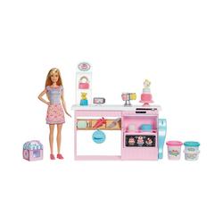 Mattel® Anziehpuppe Barbie Tortenbäckerei Spielset mit Puppe (blond)