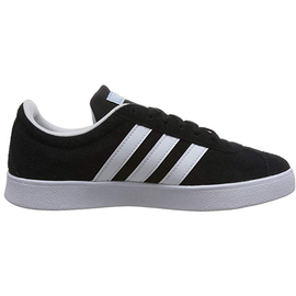 adidas VL Court 2.0 core black/cloud white/bright  white 44
