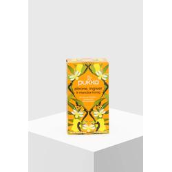 Pukka Tee Zitrone, Ingwer & Manuka-Honig Bio 20 Teebeutel