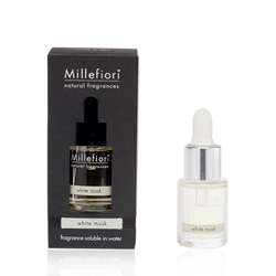 MILLEFIORI Natural wasserlösliches Duftöl 15 ml  WHITE MUSK