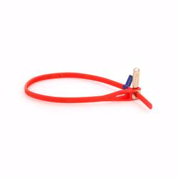 Abus MultiZip rot - wiederverwendbarer Kabelbinder