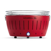 Lotusgrill Holzkohlegrill XL feuerrot