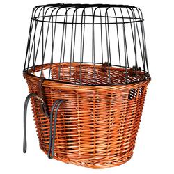Trixie Fahrradkorb mit Gitter natur