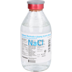 KOCHSALZLÖSUNG 0,9% Glasfl. 250 ml
