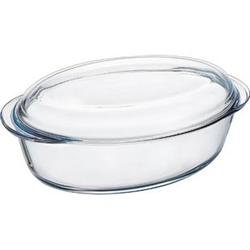 Pyrex Kasserolle oval, Glas
