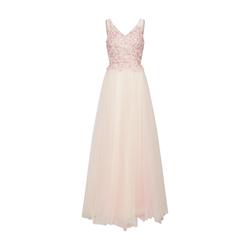 mascara Damen Abendkleid 'Beads Dress' champagner / rosa, Größe 40, 4146460