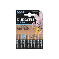 Duracell ULTRA Batterie, (8 St), AAA, lange Lebensdauer