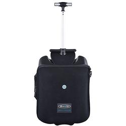 Rollkoffer Luggage Eazy schwarz