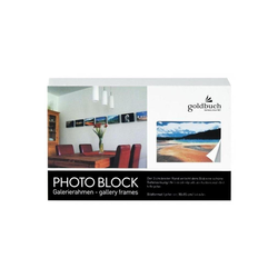 Goldbuch Bilderrahmen 90 0121 Blockrahmen 10x15 weiss
