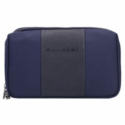 Piquadro Brief Handtaschen Organizer 25 cm blue