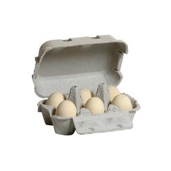 Erzi® Spiellebensmittel Spiellebensmittel Eier, weiß (6 Stück im