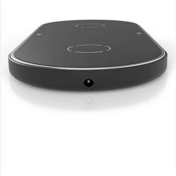 Cyoo - Dual Phone Wireless Lade Pad -  Schwarz  - Ladegerät