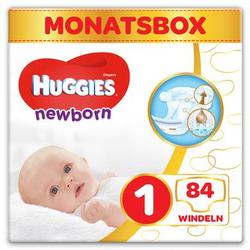 Huggies Newborn Baby Windeln für Neugeborene Größe 1 84 Stück