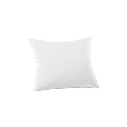 Schlafgut Kissenbezug Mako Jersey in weiß, 40 x 40 cm