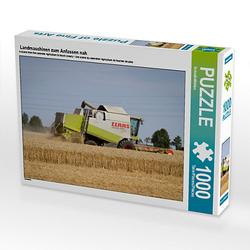 Landmaschinen zum Anfassen nah Lege-Größe 64 x 48 cm Foto-Puzzle Bild von SchnelleWelten Puzzle