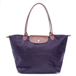 Longchamp Damen Handtasche braun / lila, Größe M, 4987270