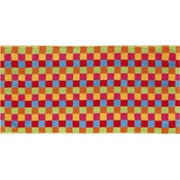 CAWÖ Life Style Karo 7047 Handtuch 50 x 100 cm multicolor