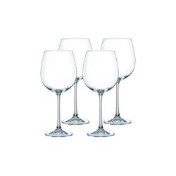 Nachtmann Rotweinglas Vivendi Rotweinglas 4er Set, Kristallglas